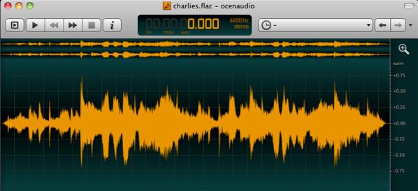 Audiobearbeitung mit OcenAudio