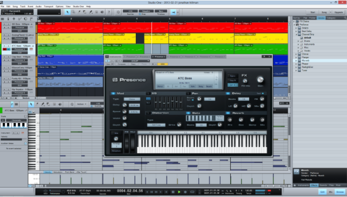 Presonus Studio One – Sequencer