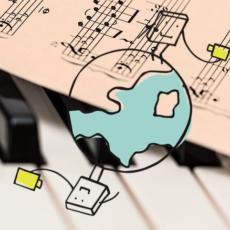 Material für den Musikunterricht aus der Ferne