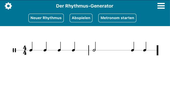 Nicht nur für den Distanzunterricht: Rhythmusgenerator